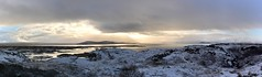 Icelandic Landscape (Gwenael B) Tags: iceland snow panorama landscape travel clouds mountains lakes panoramic nikon d5200 stormy skies
