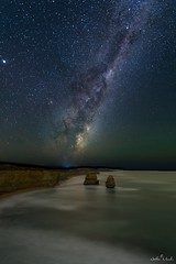 12 Apostles under the night sky. (nathanmeade_) Tags: astromilkyway12apostlespentax