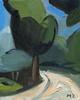 Maria Zaikina, Landscape with trees, oil on canvasboard, 20x25 cm, 2018 (suzy_yes) Tags: ©mariazaikina landscapepainting fromlife alaprima mediterranean oil painting oiloncanvas oiloncardboard tree road ölmalerei malerei kunstwerk kunst modernpainting paintingfromlife