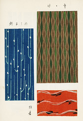Vintage woodblock print of Japanese textile from Shima-Shima (1904) by Furuya Korin. Digitally enhanced from our own original edition. (Free Public Domain Illustrations by rawpixel) Tags: furuya korin otherkeywords tags antique asian background blue brown collection compilation decoration design fabric furuyakorin graphic illustrated illustration japan japanese linear name old pattern plate print printed publicdomain red set shimashima style textile textured various vintage wallpaper woodblockprint woodcut