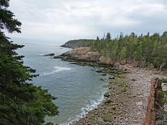Ocean Path in Acadia National Park (lucre101) Tags: bar harbor maine downeast beautiful acadia national park atlantic ocean path coast shore rocky