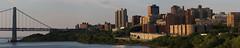 The coast of Manhattan — 14-photo stitch (@harryshuldman) Tags: manhattan panorama ultrawide gwb georgewashingtonbridge harlem westharlem hamheights hamilton hamiltonheights newyorkphotographers canon7d 7dmarkii 7dmark2 hudsonriver hudson river nyc newyorkcity