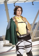 _MG_7168 (Mauro Petrolati) Tags: attack titan shingeki kyojin romics 2018 cosplay cosplayer beatrice hanji zoe no