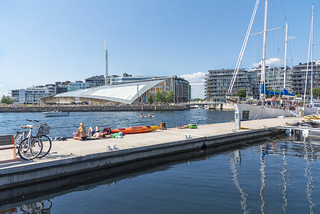 Summer in the city, Oslo, Norway