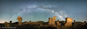 Bisti Badlands under the Stars (OJeffrey Photography) Tags: milyway newmexico nm bistibadlands stars starscape lowlevellighting lll wilderness nightsky rockformation panorama pano ojeffreyphotography ojeffrey jeffowens nikon d850