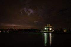 Nature's Lightshow (hutchyp) Tags: nature lightshow lightning sky electrical storm thunder warsash hampshire hamble river sony alpha a58