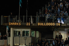 Sharks v Bulldogs Round 11 2018_188.jpg (alzak) Tags: 2018 australia bankstown bulldogs canterbury cronulla league nrl national rugby sharks sydney action full score scoreboard sport sports time