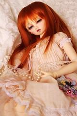 Lace and pearls (borboletta_blu) Tags: volks nana swd sd13 purenormalskin ns bjd doll resindoll leeke wig carrot 910inch mako eyes 18mm urethane