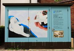 Malines Centre @Kleine kenners  IMG_0285 (blackbike35) Tags: malines melchelen belgique art artwork de rue aérosol bomb paint graff graffiti street streetart urban public writing artist