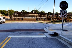 Closed Crossing - Austell, GA (Laurence's Pictures) Tags: ns norfolk southern rail railroad railway locomotive train engine austell georgia freight transportation