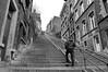 Liège (Wallonia) - Montagne de Bueren - 2 (Björn_Roose) Tags: bjornroose björnroose liège luik wallonië wallonia architecture architectuur stairways trap