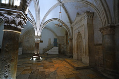 Coenaculum room, King David's Tomb, Jerusalem (Andrey Sulitskiy) Tags: jerusalem israel