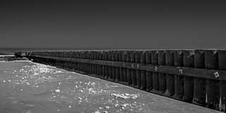 Norderney seascape -wood wall-