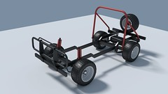 Jago Jeep chassis test (Mad about photos) Tags: jagojeep chassis blender 3d modelling model kit car