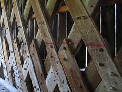 Goddard Bridge Trusswork (tcpix) Tags: goddard coveredbridge truss townlattice flemingcounty kentucky