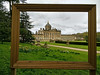 Framed (StartToFigureItOut) Tags: castle howard castlehoward england yorkshire uk malton northyorks northyorkshire cloudy overcast hdr frame frameinthephoto framed countryhouse country house statelyhome stately home garden outdoors outside spring pictureframe picture 52in2018challenge framewithinaframe