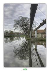 A REFLECTION (régisa) Tags: kanaal canal bruges westvlaanderen belgique belgië reflection brugge thecure tree arbre kazernevest