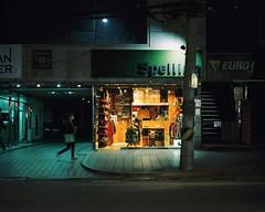: (june1777) Tags: snap street seoul night light pentax 67 pentax67 105mm f24 kodakp portra 800