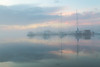 misted marina (Marc McDermott) Tags: mist marina sunset evening ontario canada lakeontario bay calm tranquil clouds pastel reflection boats sail dock symmetry peaceful
