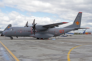 Kazakhstan Air Force CASA C-295M 07 Red TSE 23-05-18