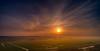 Sun setting in the west. (Alex-de-Haas) Tags: dji dutch europa holland nederland nederlands netherlands noordholland noordzee northsea phantom phantom4 phantom4pro schoorl uav aerial aerialphotography air drone landscape landschaft landschap lente lucht luchtfotografie polder sea skies sky skyscape spring sundown sunset village water zee zonsondergang warmenhuizen nl