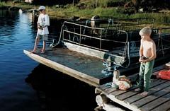 Långö 26-28 juli 1999 (gustafsson_jan) Tags: amicaseglingtilllångö2628juli1999 långö rickardgustafsson alexandersolliholm fiske fishing