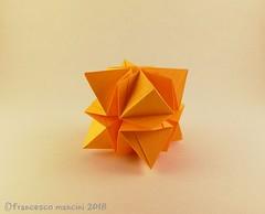Twilight 12 #4 (mancinerie) Tags: origami modularorigami paperfolding papiroflexia mancinerie francescomancini cube