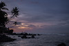 Sunrise at Delawella Beach near Unawatuna (Tim&Elisa) Tags: srilanka canon asia landscape sunset nature seascape palmtree indianocean ocean water waves clouds sun rocks unawatuna delawellabeach beach