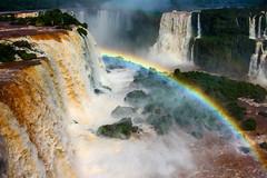 Chutes d'Iguaçu (GuilPen) Tags: waterfall iguaçu brésil brazil chute arc en ciel