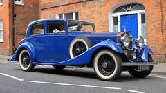 1934 Rolls-Royce 20-25 Saloon TSU 901 (BIKEPILOT, Thx for + 4,000,000 views) Tags: 1934 rollsroyce 2025 saloon tsu901 blue car automobile vehicle transport classic vintage farnham farnhamfestivaloftransport town surrey uk england britain