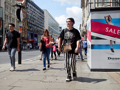 20180613T11-10-32Z-_6133479 (fitzrovialitter) Tags: england gbr geo:lat=5151583000 geo:lon=013773800 geotagged soho unitedkingdom westendward peterfoster fitzrovialitter rubbish litter dumping flytipping trash garbage urban street environment london streetphotography documentary authenticstreet reportage photojournalism editorial captureone littergram exiftool olympusem1markii mzuiko 1240mmpro city ultragpslogger geosetter girl walking stripes