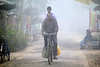 Images from Rural Bengal (pallab seth) Tags: fatherandson fathersday2018 relationship bonding sajnekhali morning fog candid streetshot bengal india