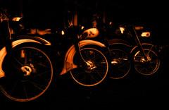 The Golden Age of German Mopeds (low res) (BartvanDam) Tags: moped german kreidler zündapp golden age bike motor fineart ricohgr glow motorbike bikes sunset