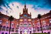 Nit dels museus. Hospital de Sant Pau. (De carrusel) Tags: 2018 ciudad carrusel barcelona catalunya españa es