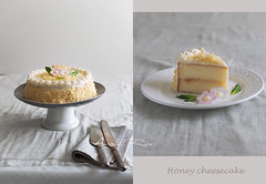 honey cheesecake (asri.) Tags: 2018 onwhite baking homemade foodphotography foodstyling 50mmf14 105mmf28