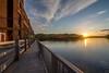 Lagabelle water Dam - Barrage Lagabelle (MaxGag) Tags: hydroquebec stmaurice lagabelle dam barrage