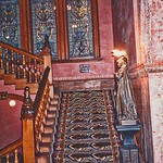 St Augustine  Florida - Ponce de Leon Hotel - Flagler College -  Staircase thumbnail