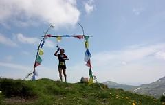 IMG_5796 (Marcia dei Tori) Tags: 2018 montespigolino italy skyrun marciadeitori mdt2018 caicarpi appennino appenninomodenese januacoeli paololottini running mountain italia emiliaromagna run sky flag tibetanflag