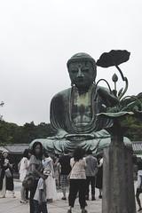 Kamakura Buddha (lalle olosta) Tags: kamakura japan buddha statue