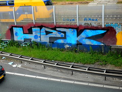 A20 - HPK (oerendhard1) Tags: graffiti streetart urban art vandalism illegal rotterdam oerendhard a20 hpk hpkz hpks