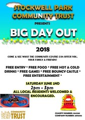 TOMORROW GUYS!! COME AND JOIN US IN CELEBRATION!! ALL WELCOME! #bigdayout #stockwell #brixton #party #community #trust https://t.co/OyWR5RTLN3