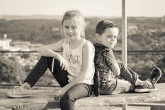Bela e Gui (Rampager) Tags: isabela melissa elias guilhermeotávioelias canon 7d portrait kids 55250