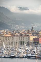Palermo - La Cala (bautisterias) Tags: palermo sicily sicilia southernitaly italy unesco arabnormanpalermo boats sailing