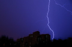 Live from my balcony (Onlyshilpi) Tags: lightening mumbai storm rain monsoon flickrfriday single