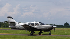 N395TC Rockwell RC114, Scone (wwshack) Tags: commander egpt psl perth perthairport perthshire rc114 rockwell scone sconeairport scotland n395tc