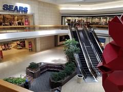 SEARS Court at Lakeside Mall (The Caldor Rainbow) Tags: shopping mall retro 1970s taubman bruce beasley modern art