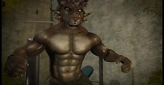 The Flex (Krull Darkshine) Tags: aesthetic beast charr sl secondlife rp roleplay 2018 avatar character warrior legionnaire anthro anthropomorphic ironlegion fantasy muscle gym weights abs chest arms pecs biceps sweat flex workout exercise guildwars2