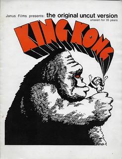 King Kong Pressbook ( 1960's )