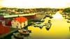 Legoland in Haugesund (evakongshavn) Tags: haugesund visithaugesund norge norway visitnorway buildings houses view reflections boats yacht
