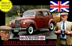 British Cars tweed jacket photos 2018 part 20 (The General Was Here !!!) Tags: car auto nz kiwi cap coat jacket mens old older fashion retro canon outdoor driving vintage tweed houndstooth 2018 dapper oldman wearing blazer plaid distinguished ride run veteran timer british uk scottish english country cars autos vehicles show club rally parade newzealand vintagecarclub queensbirthday june oldcar southisland classiccars headlight windscreen wheels chrome alt silverfox menswear weartweed